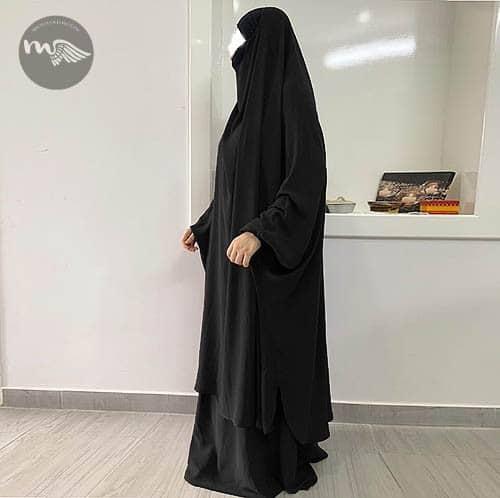 Jilbab 2 pièces Mariem Mouhajiroun