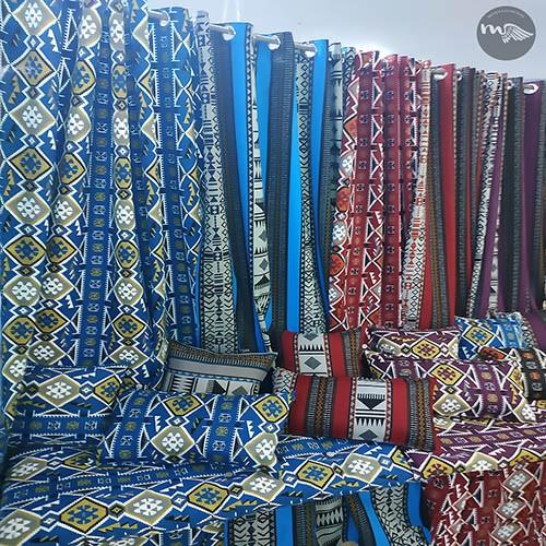 Rideaux Ethnique Mouhajiroun