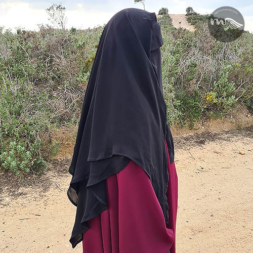 Niqab double voiles