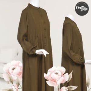 abaya a bouton
