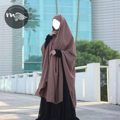 ensemble abaya-khimar